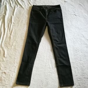 Wax Jean Skinny Jeans